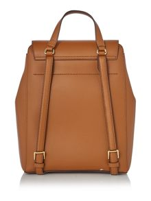 Lauren Ralph Lauren Dryden tan backpack bag
