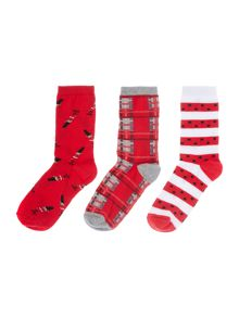 Dickins & Jones Drummer boy 3 socks in a box