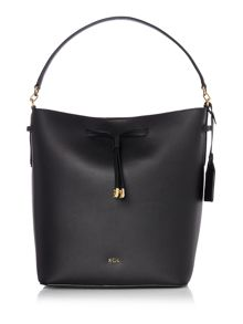 Lauren Ralph Lauren Dryden black bucket bag
