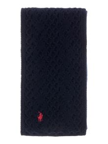 Polo Ralph Lauren Girls Cable Knit Scalf