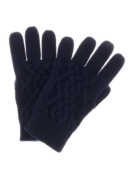 Polo Ralph Lauren Girls Cable Knit Gloves