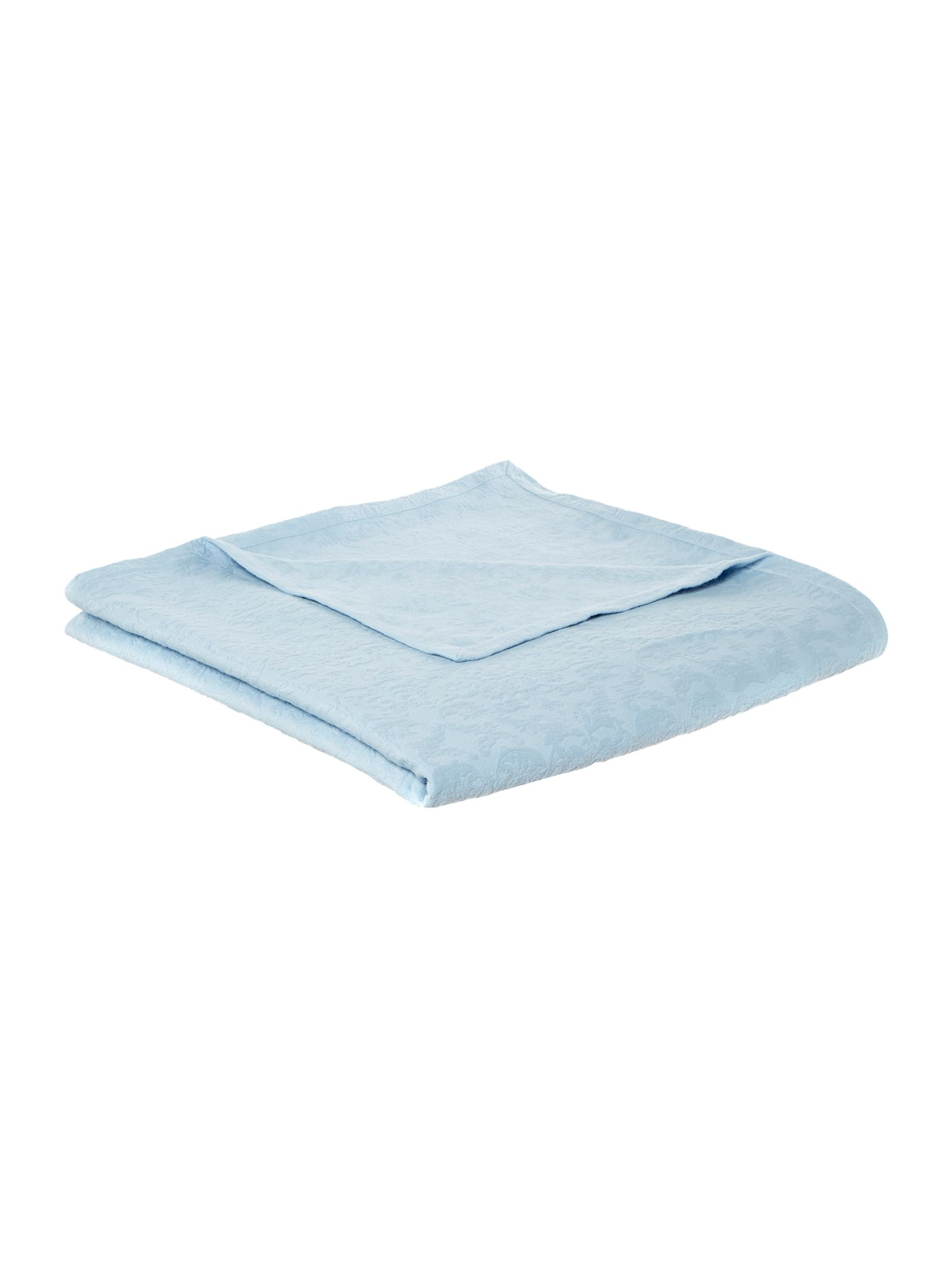 Image of Shabby Chic Classic matelasse bedspread, blue