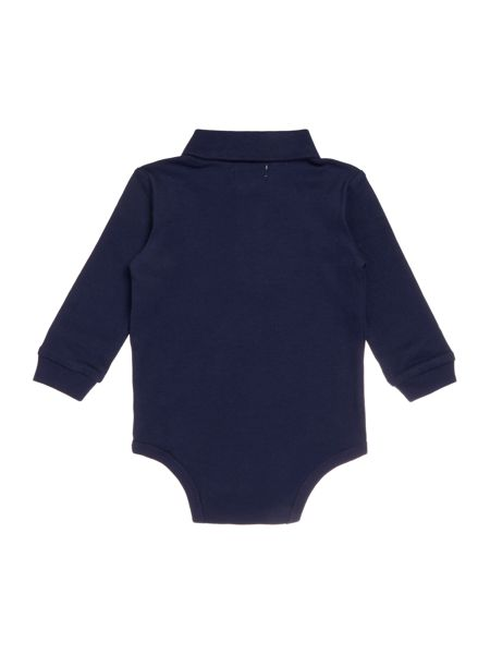 Polo Ralph Lauren Baby Boys Pique Polo Body Suit