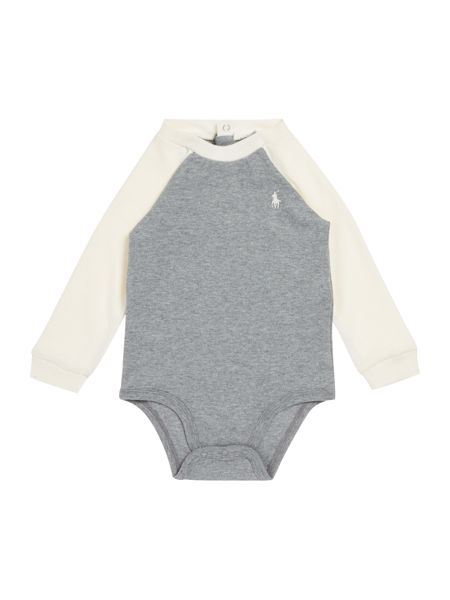 Polo Ralph Lauren Baby Boys Contrast Raglan Body Suit