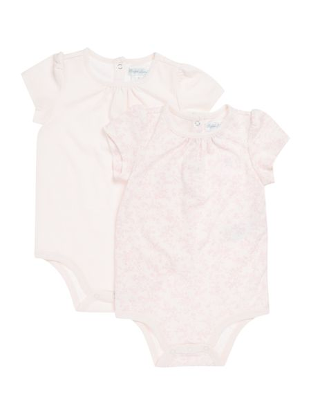 Polo Ralph Lauren Baby Girls 2 Pack Floral Print Body Suit
