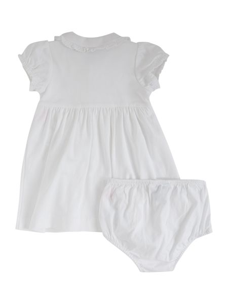 Polo Ralph Lauren Baby Girls Pima Cotton Frill Dress with Pants