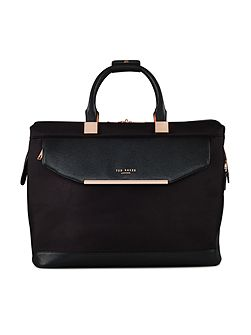 Ladies albany black small clipper holdall