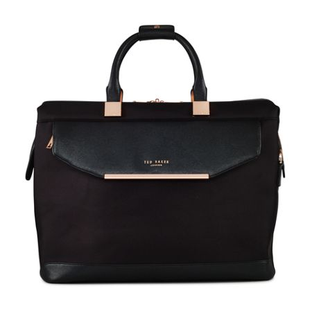 Ted Baker Ladies albany black small clipper holdall