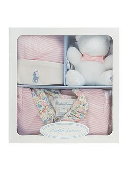 Baby Girls 3 Piece All In One Gift