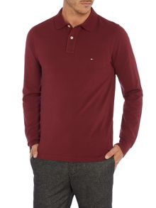 Tommy Hilfiger Long Sleeve Slim Fit Polo Top