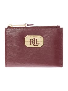 Lauren Ralph Lauren Newbury Burgundy Coin Purse