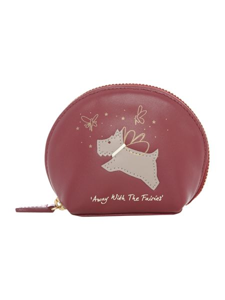 Radley Away with the fairies red small coin purse