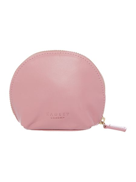 Radley In stitches pink small coin purse
