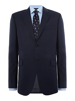 Oakland Textured Stripe Suit Jacket