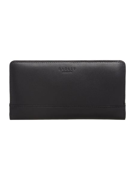 Radley Away with the fairies black large purse