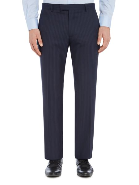 Howick Tailored Oakland Textured Stripe Suit Trouser