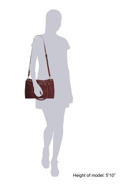 Ollie & Nic Bella burgundy medium tote