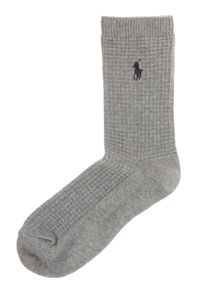 Polo Ralph Lauren Waffle crew ankle socks