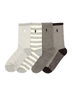 4 pair pack ankle socks gift box