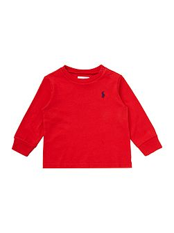 Baby Boys Crew Neck Pony Logo T-shirt