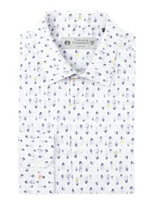 Turner & Sanderson Swann Light Bulb Printed Shirt