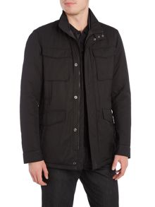 Hugo Boss Centin 4 pocket nylon field jacket