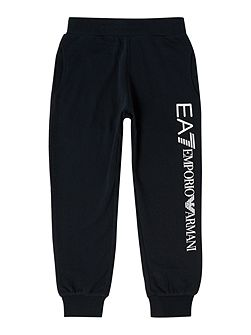 Boys EA7 Tracksuit Bottoms