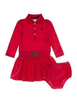 Baby Girls Polo Shirt Dress