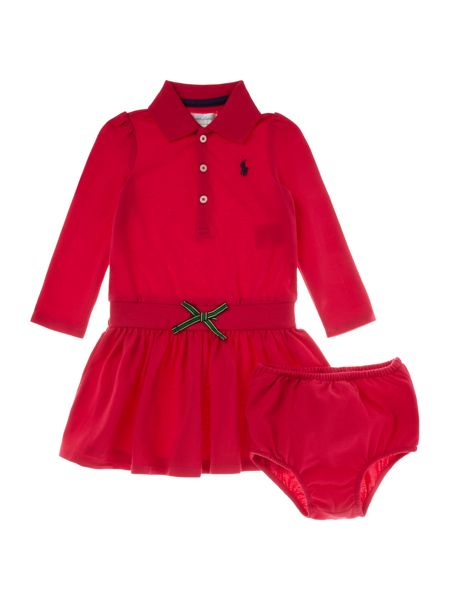 Polo Ralph Lauren Baby Girls Polo Shirt Dress