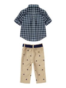 Polo Ralph Lauren Baby Boys Check Shirt & Chino Set