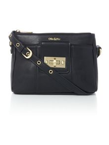 Ollie & Nic Bella Black Small Crossbody