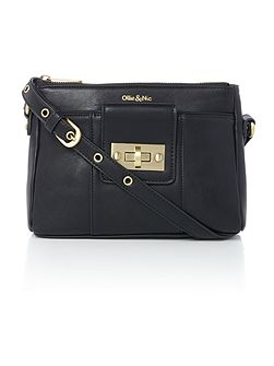 Bella Black Small Crossbody