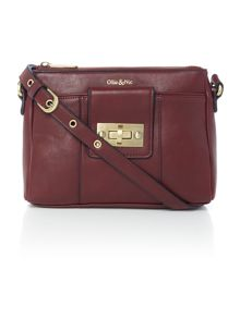 Ollie & Nic Bella Burgundy Small Crossbody
