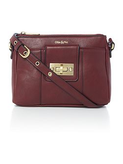 Bella Burgundy Small Crossbody