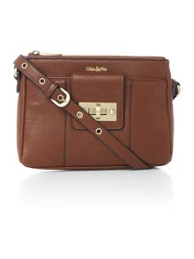 Ollie & Nic Bella tan small crossbody