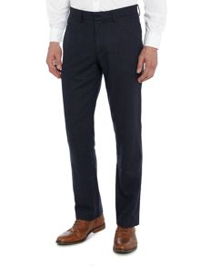 Howick Stiles Herringbone Wool Trouser