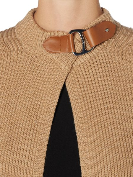 Polo Ralph Lauren Buckle Front Cardigan
