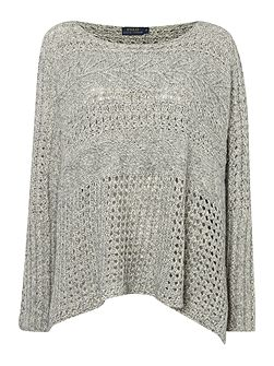 Longsleeve Chunky Cable Knit Jumper
