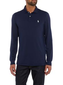Polo Ralph Lauren Golf Interlock lisle long sleeve polo