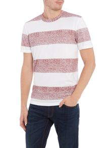 Jack & Jones Wide Marl Stripe Short Sleeve T-shirt
