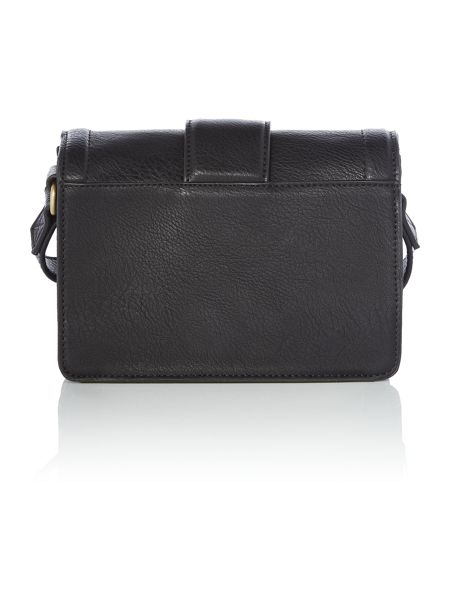 Ollie & Nic Rita Black Medium Crossbody Bag