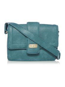 Ollie & Nic Rita Blue Medium Crossbody Bag
