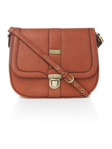 Ollie & Nic Elsa Tan Saddle Bag