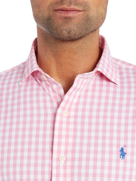 Polo Ralph Lauren Golf Multi gingham long sleeve shirt