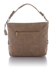 Ollie & Nic Edna Neutral Large Shoulder Bag