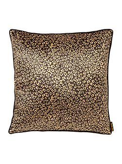 Ditsy leopard print, gold