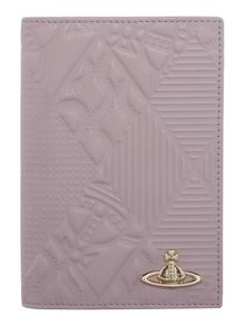Vivienne Westwood Hogarth pink passport holder