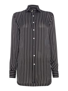 Polo Ralph Lauren Silk Striped Shirt