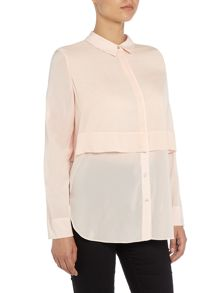 Armani Jeans Long sleeve double layer blouse