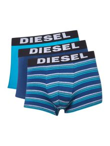 Diesel 3 pack of Stripe and Plain Trunks